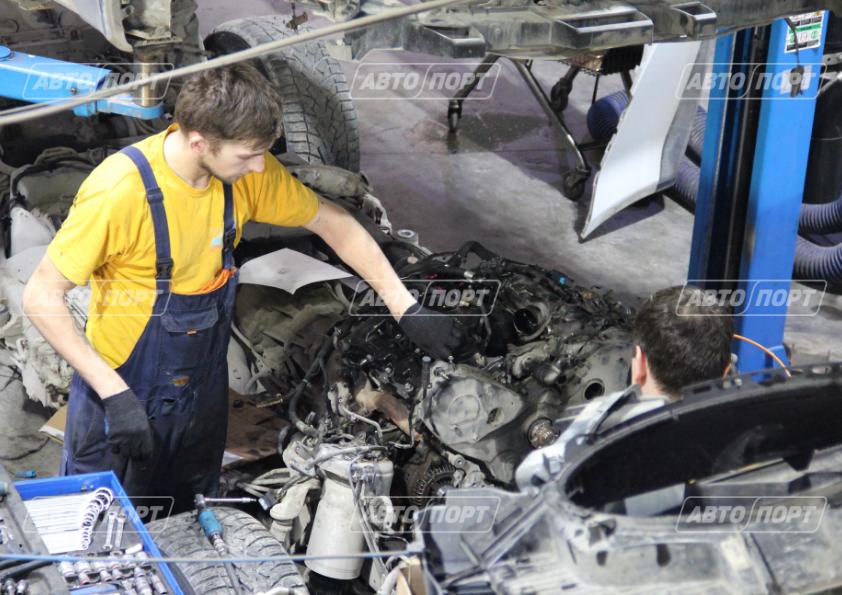 Замена турбокомпрессора на автомобиле в Новосибирске