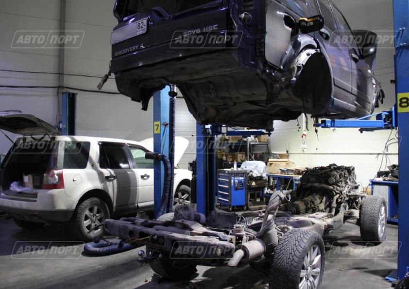 отделенеи рамы, ремонт двигателя, замена турбокомпрессора