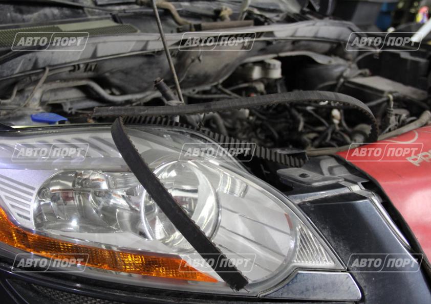 замена ремня грм на автомобиле